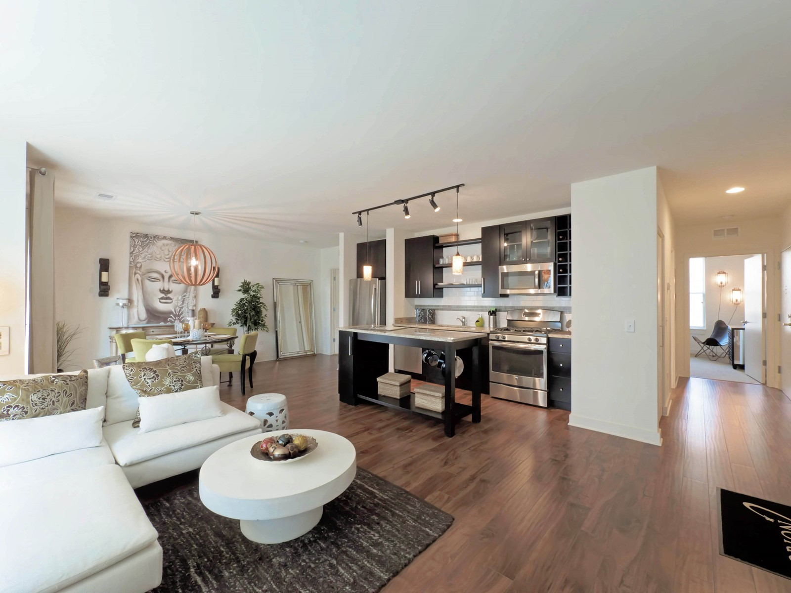 Renting With An Open Plan Living Room Dining Room