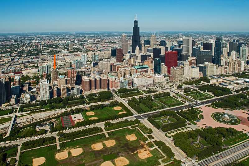 Enjoy Grant Park this summer from the South Loop's Astoria Tower
