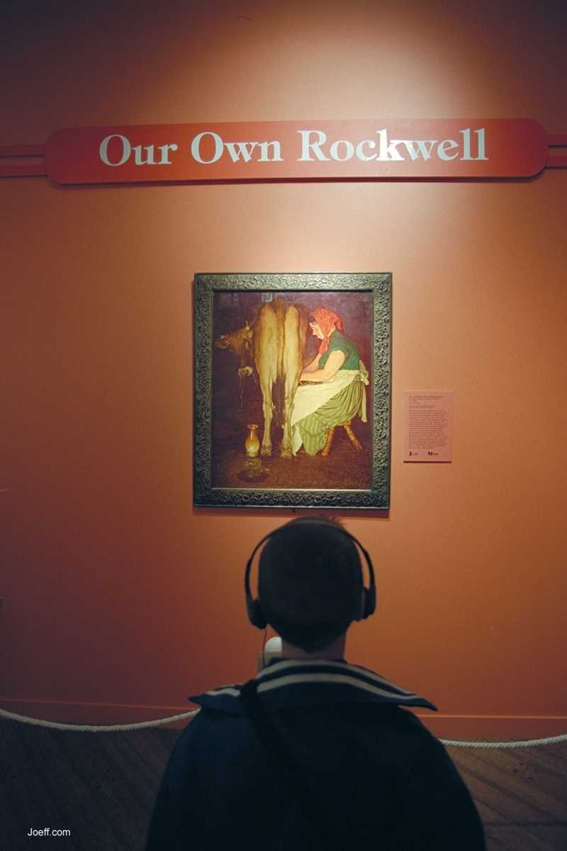 Norman Rockwell, Joeff Davis photo, Chicago, IL