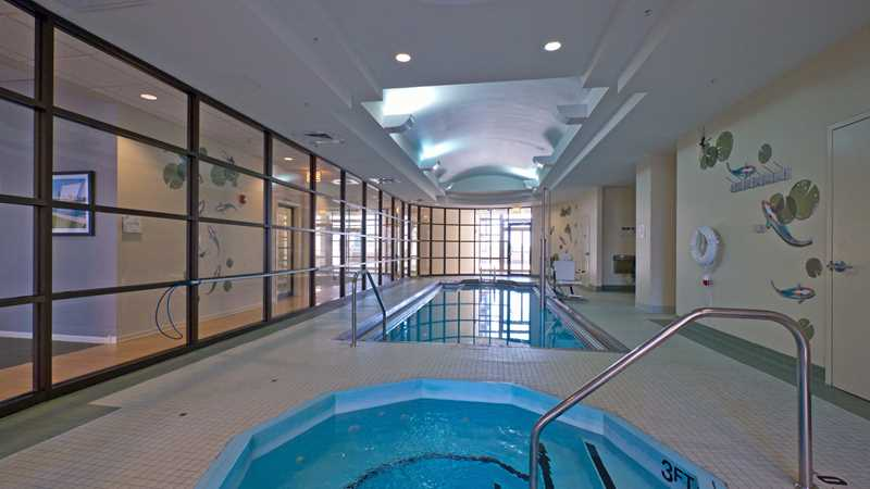 Enjoy a winter swim at the South Loop's Astoria Tower apartments