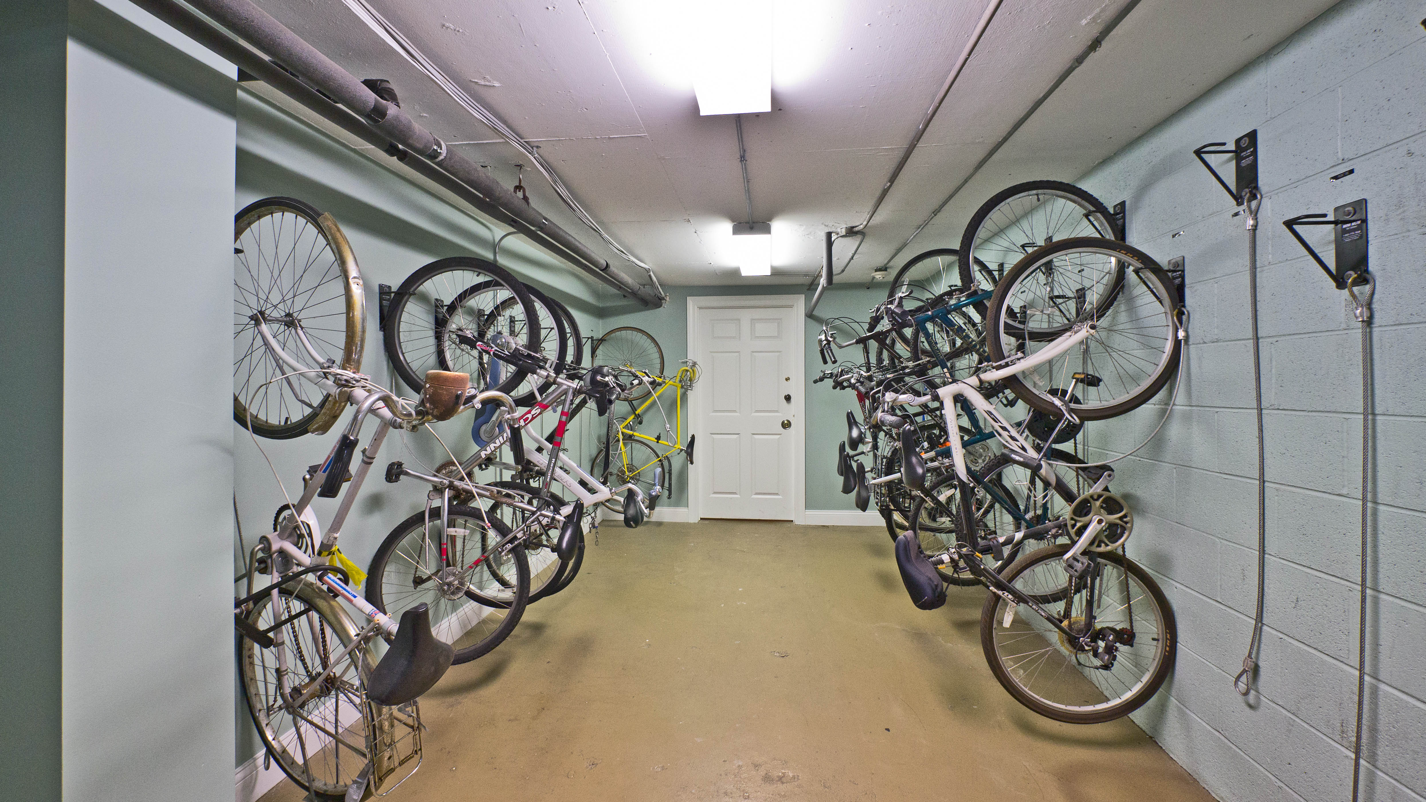 There S A Bicycle Storage