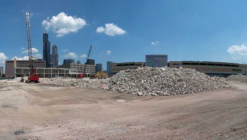 Demolition nearly complete on site for The Maxwell