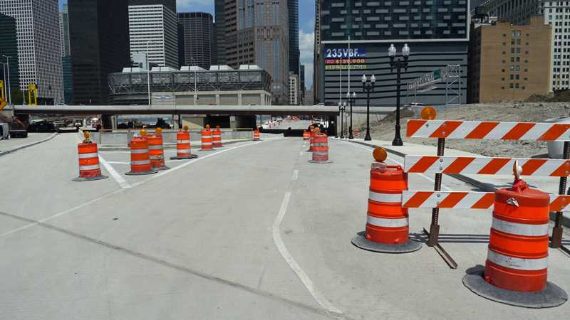 Construction milestones positive news for 235 Van Buren
