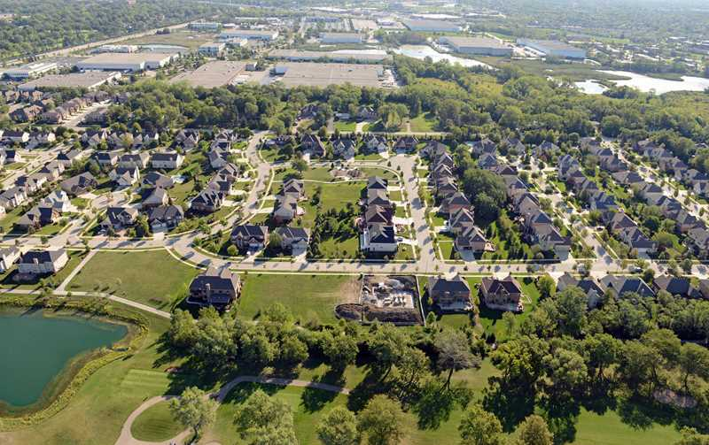 Millennials say suburbs are their ideal place to live
