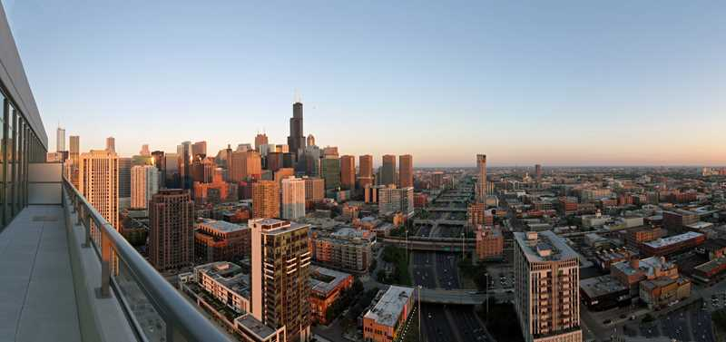 Watch Chicago grow from a K2 penthouse