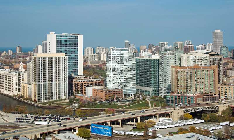 View the Taste of River North from K2 Apartments