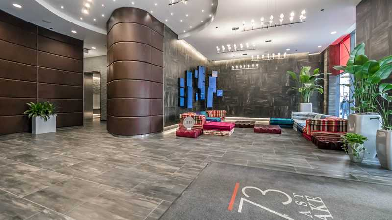 Tour the must-see amenities at 73 East Lake in the Loop