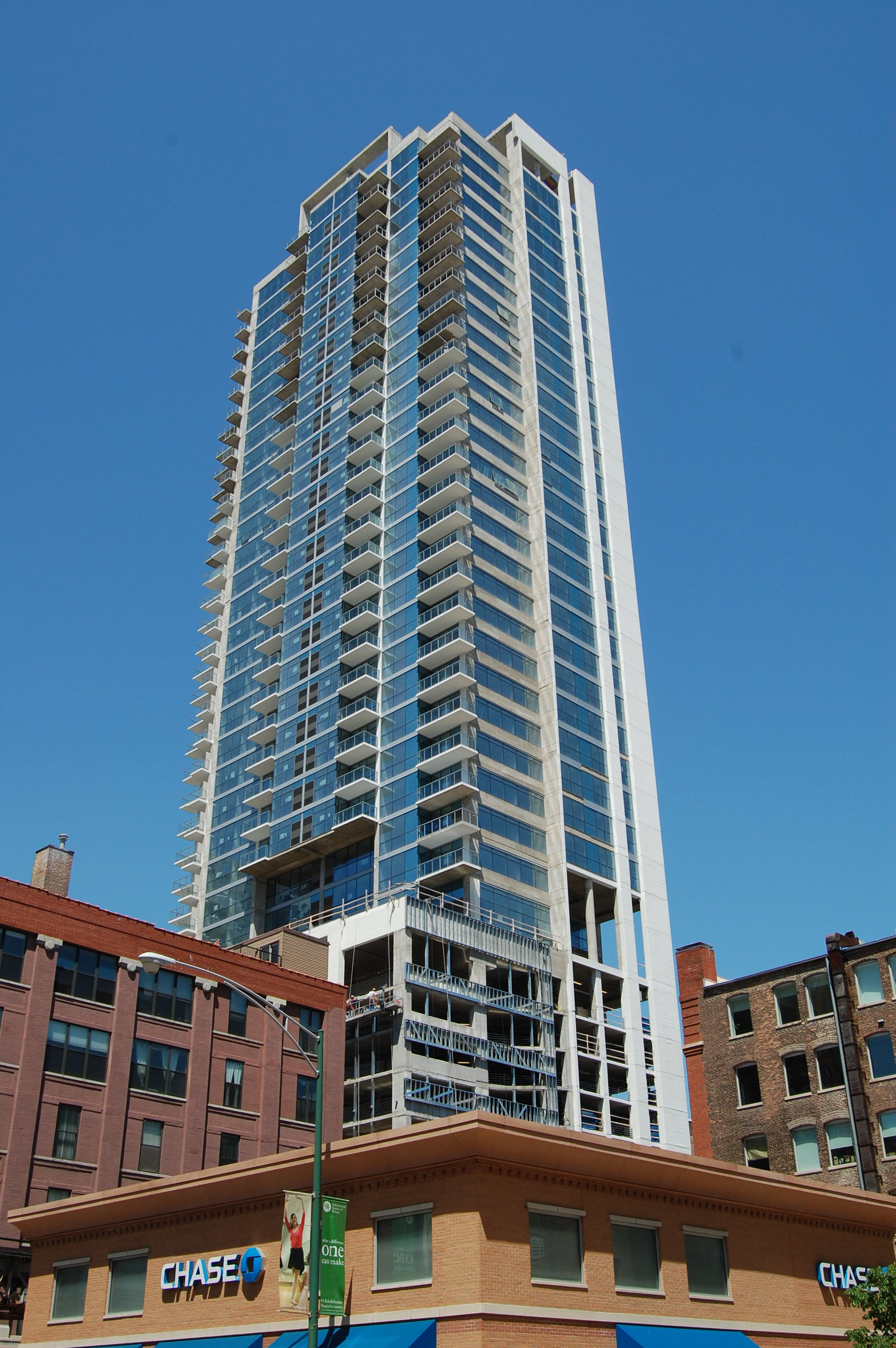 Silver Tower, 303 W Ohio St, River North, Chicago