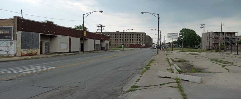 No visible progress at Bronzeville's Rosenwald Apartments