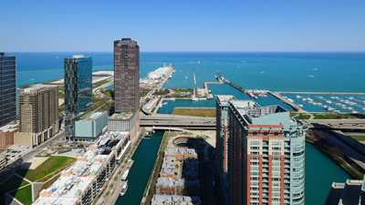 Stunning views at Streeterville's sophisticated new North Water apartments