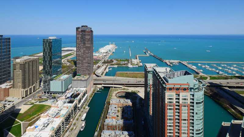 Streeterville's North Water apartments offer a higher level of style