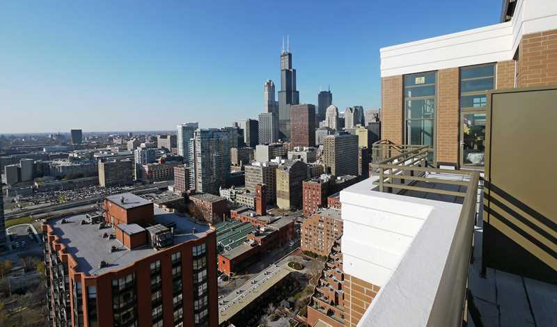 An at-a-glance list of current South Loop apartment rents