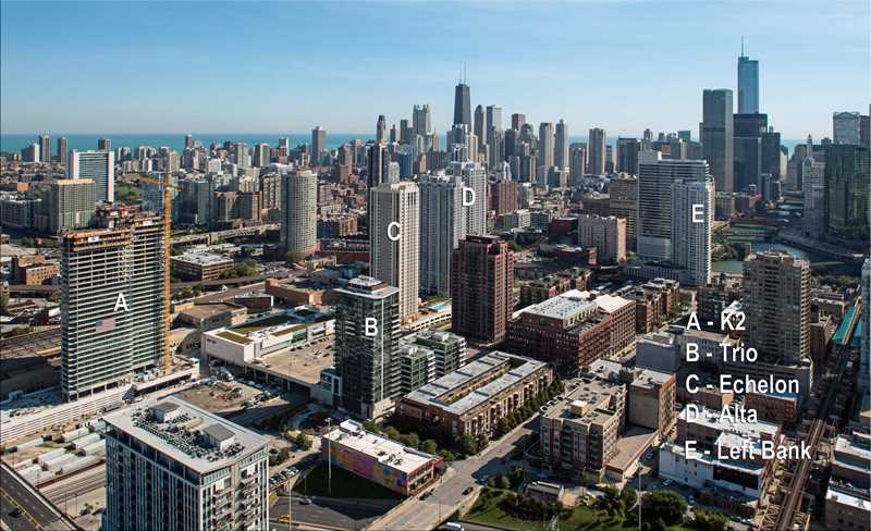 Chicago's best West Loop / Near West apartments – views