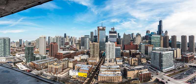 New West Loop apartments with spectacular views