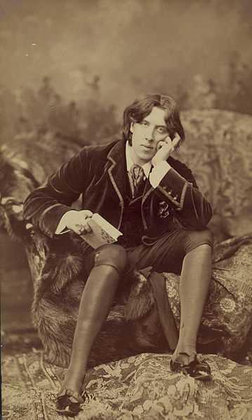 Oscar Wilde's take on using a Chicago rental service