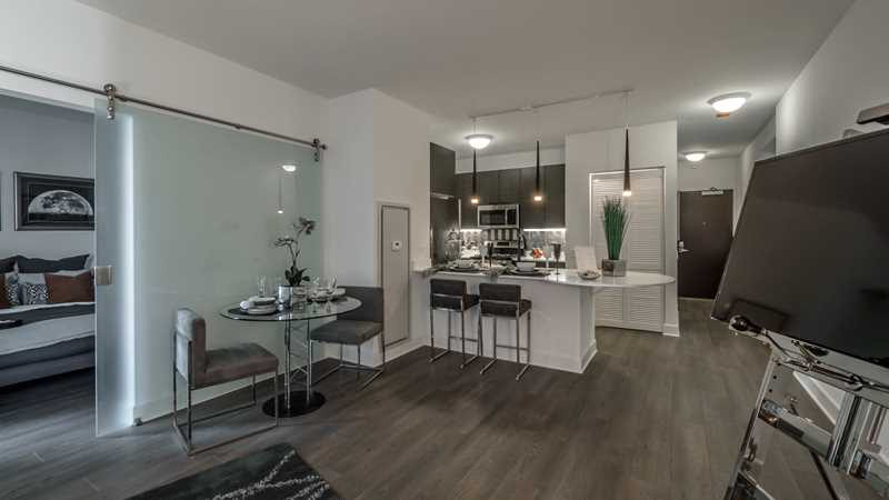 New high-amenity apartments steps from Millennium Park