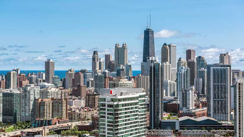 Luxury apartments at the center of Chicago's hottest neighborhoods