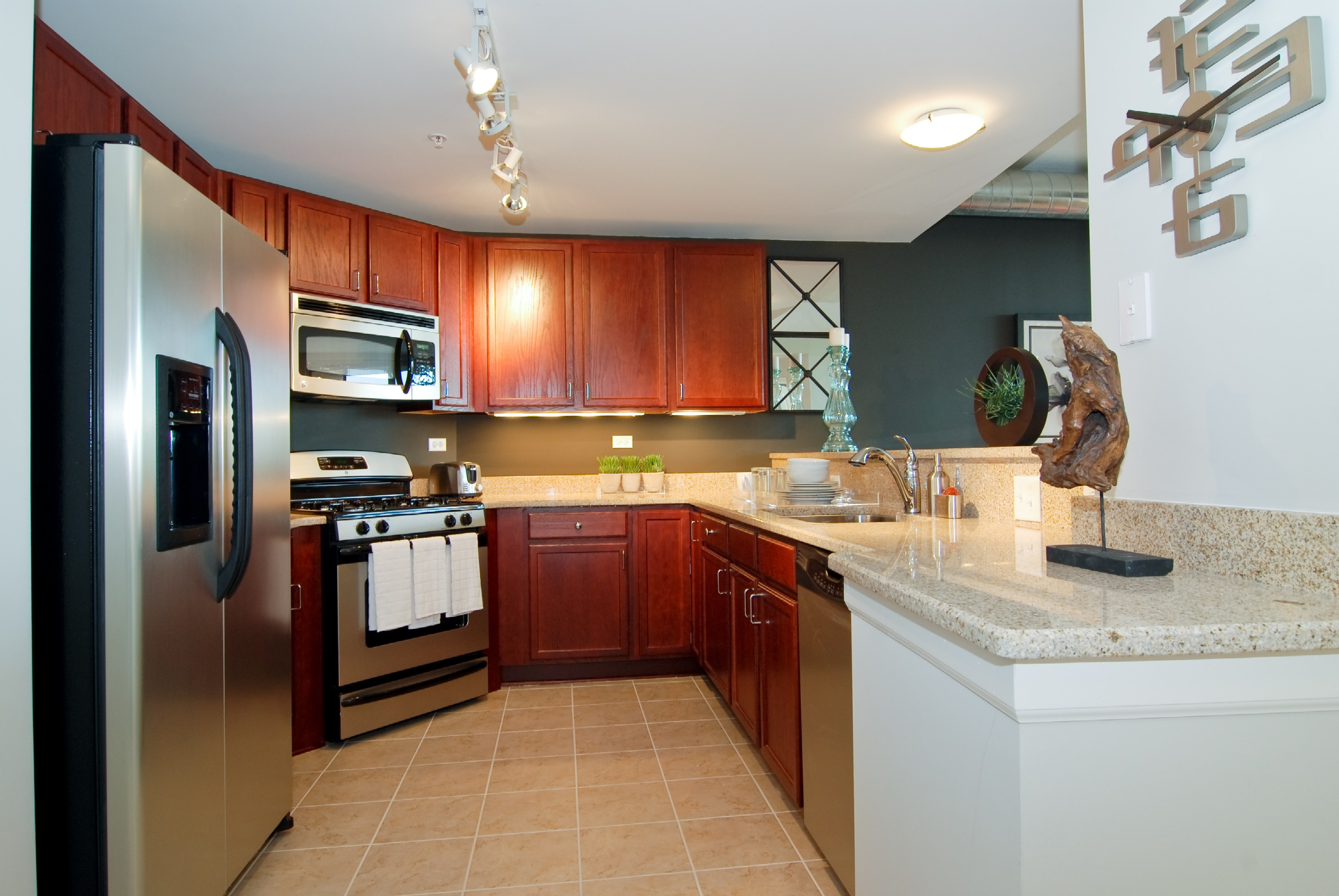 University housing options at Grand Bend in Evanston