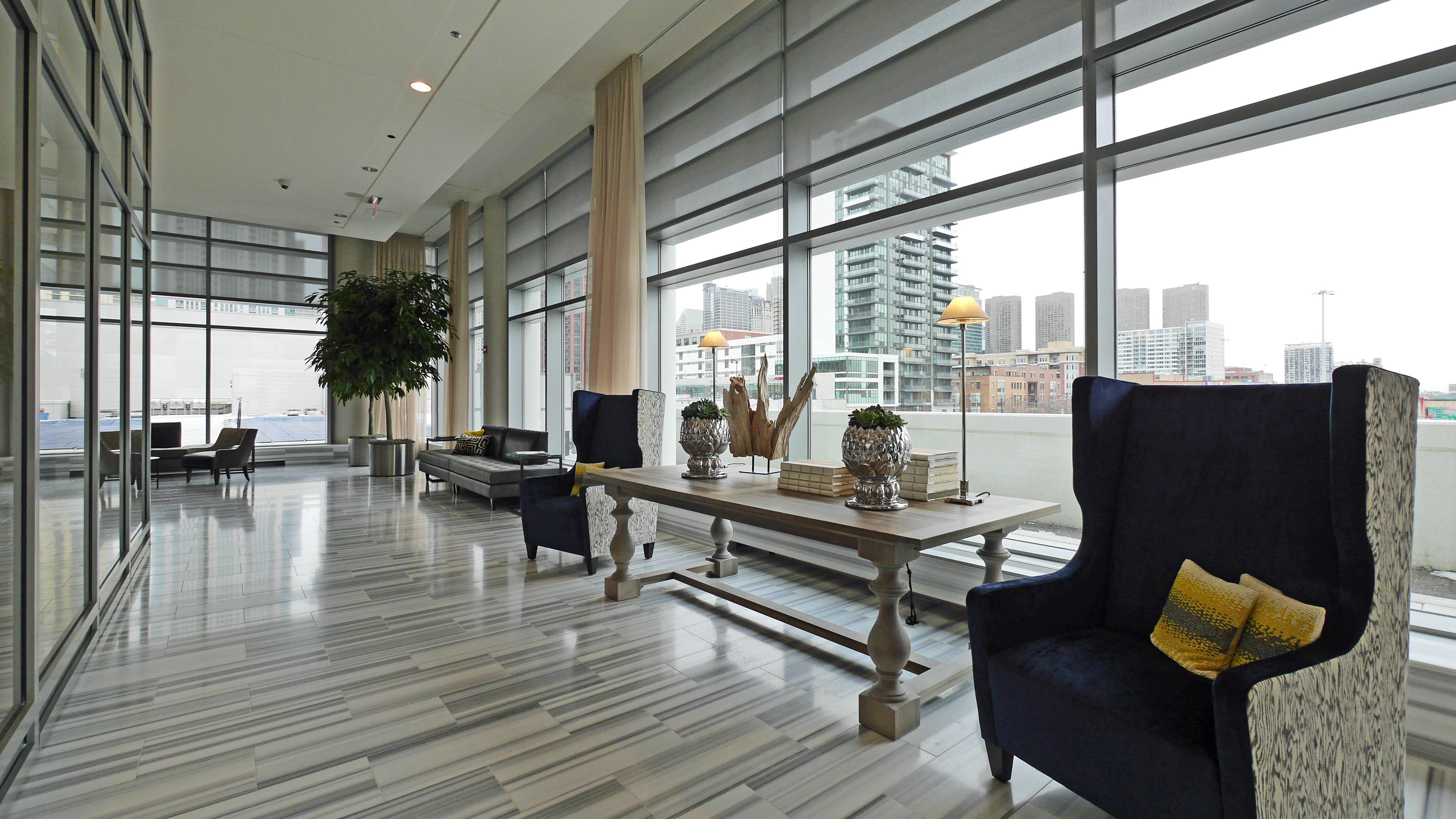 Apartment Leasing Office Interior