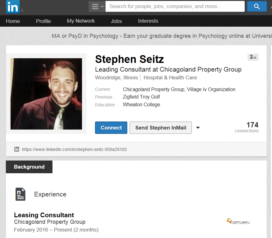 Stephen Seitz, scofflaw leasing agent, Chicagoland Property Group ...
