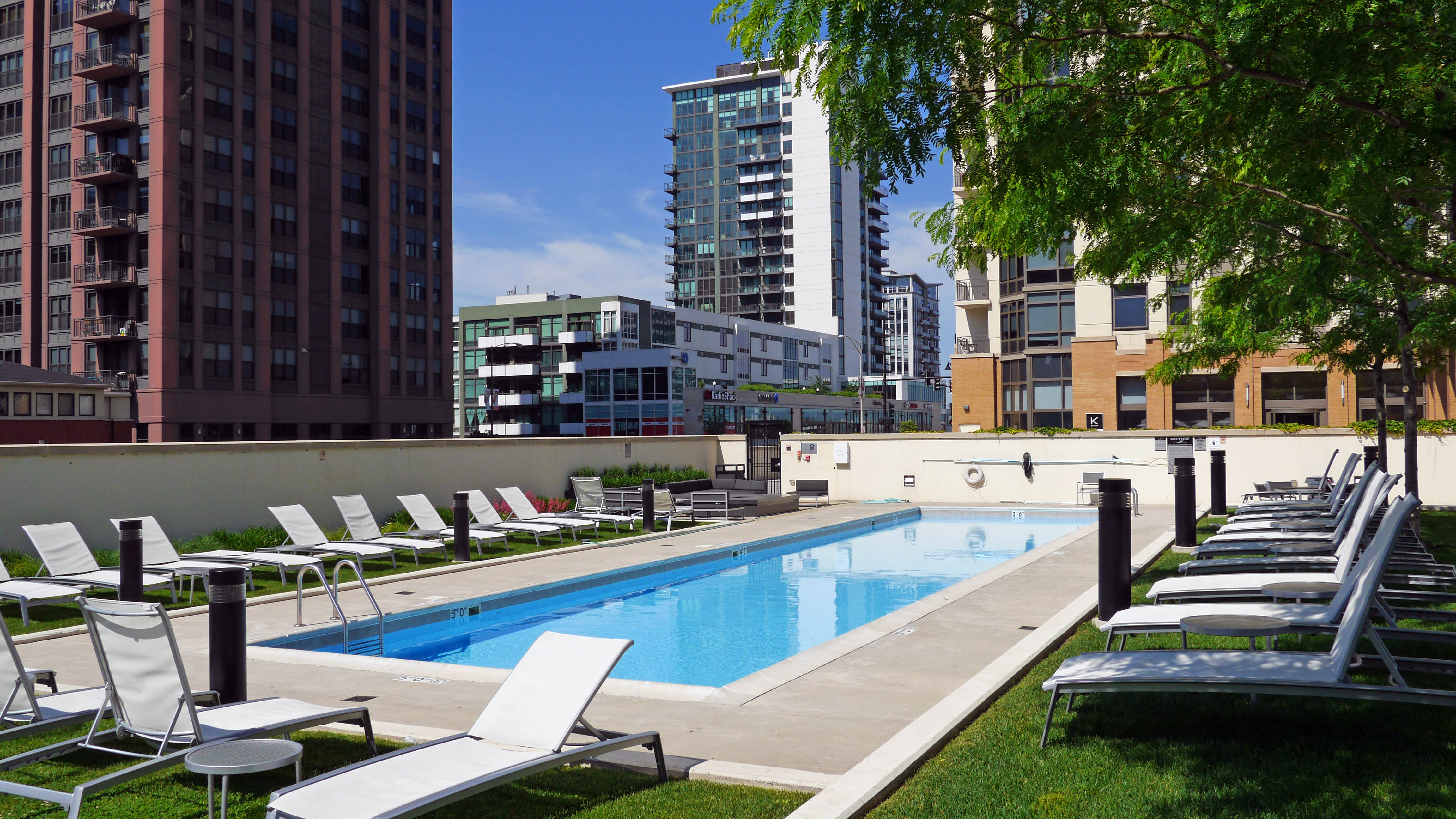 Luxury Apartments Pool. Comfort  Echelon apartments offer luxury in a prime location YoChicago