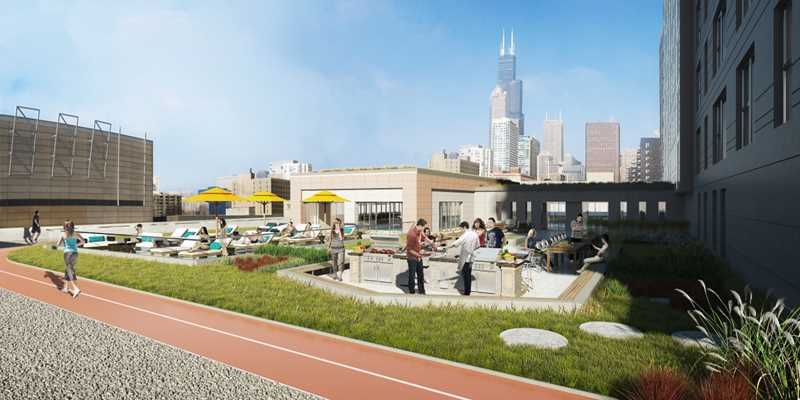 New South Loop apartments raise the bar on amenities