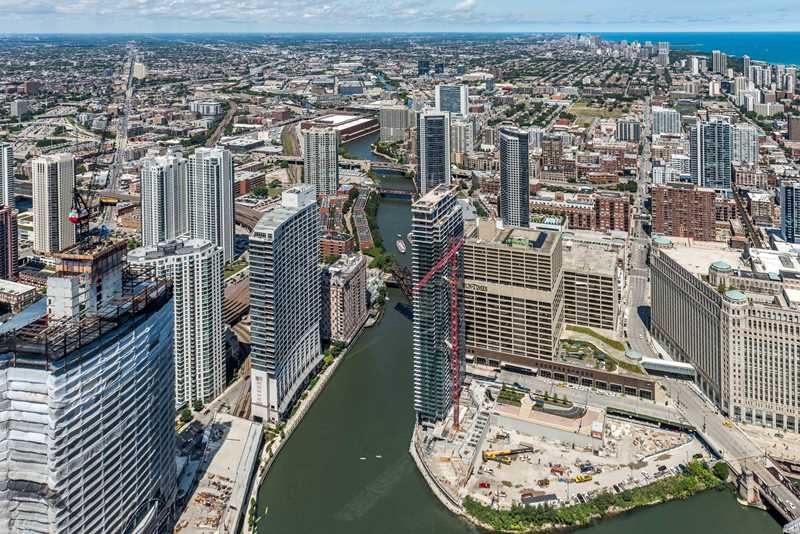 Wolf Point West apartments prepping for January occupancy