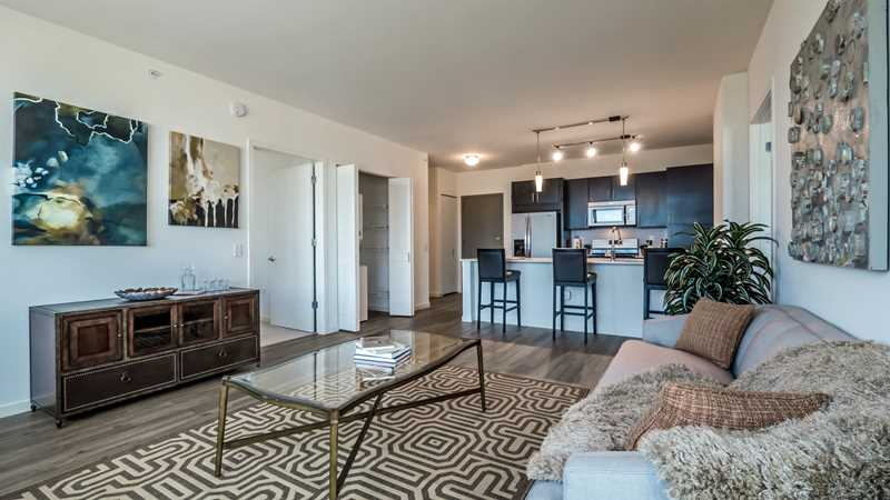Two-bedroom specials at Lakeview's new Halsted Flats