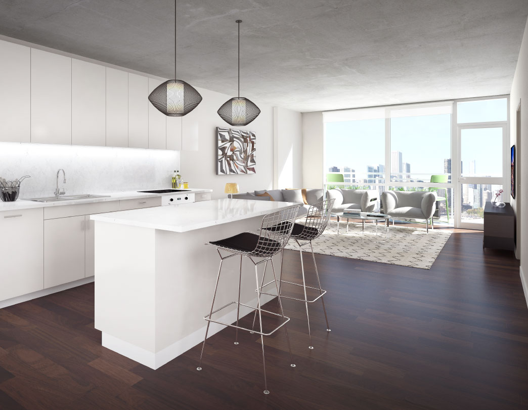 Jones Chicago apartments, 220 W Illinois St, River North – YoChicago