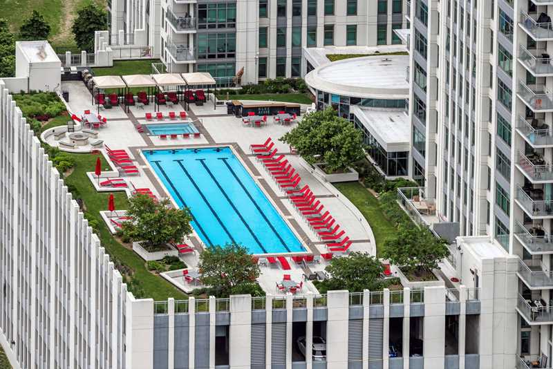 Pool deck, Alta, Chicago