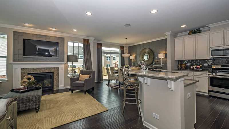 New Palatine townhomes at Lexington Hills deliver the unexpected
