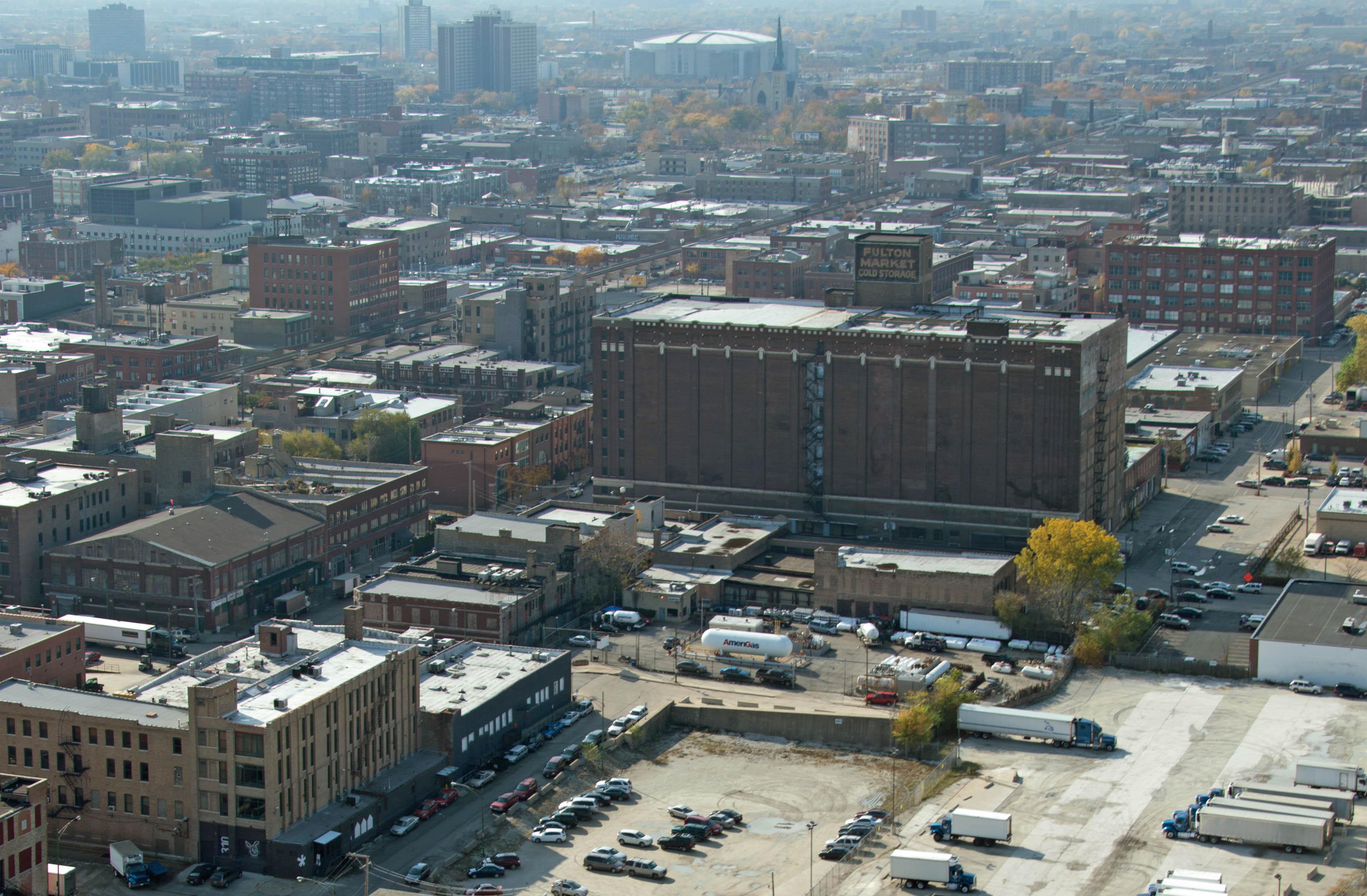 The buildingu0027s ... & A Fulton Market Cold Storage update u2013 YoChicago
