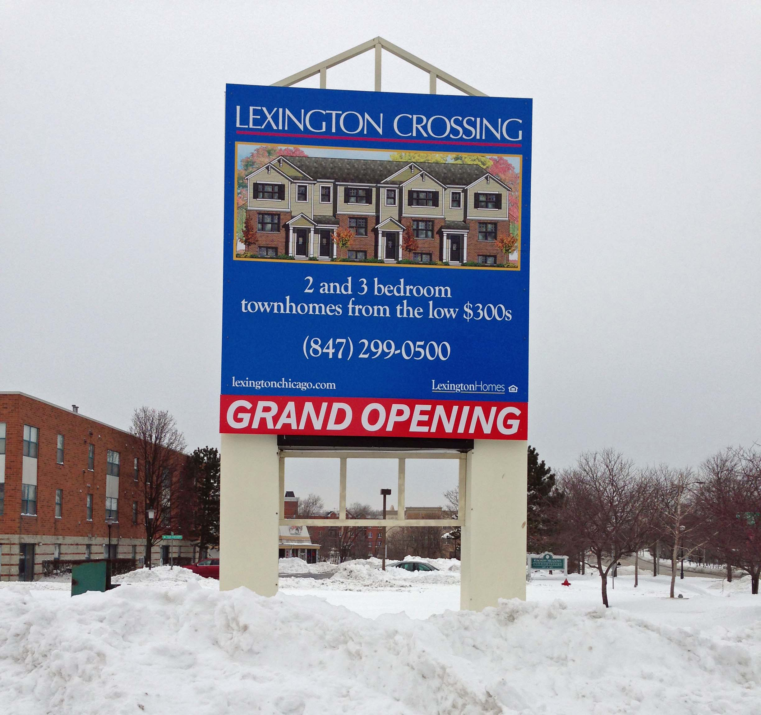 New Townhome Construction Chicago Suburbs: Grand Opening At Lexington Crossing In Rolling Meadows