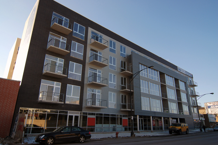Three furnished models open at Kimball Station