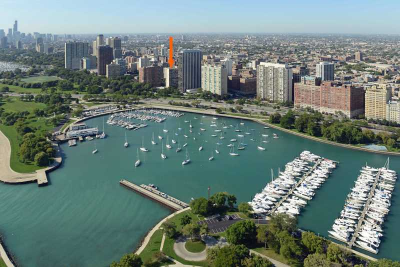 A great selection of Lakeview studios at 3130 Lake Shore Drive