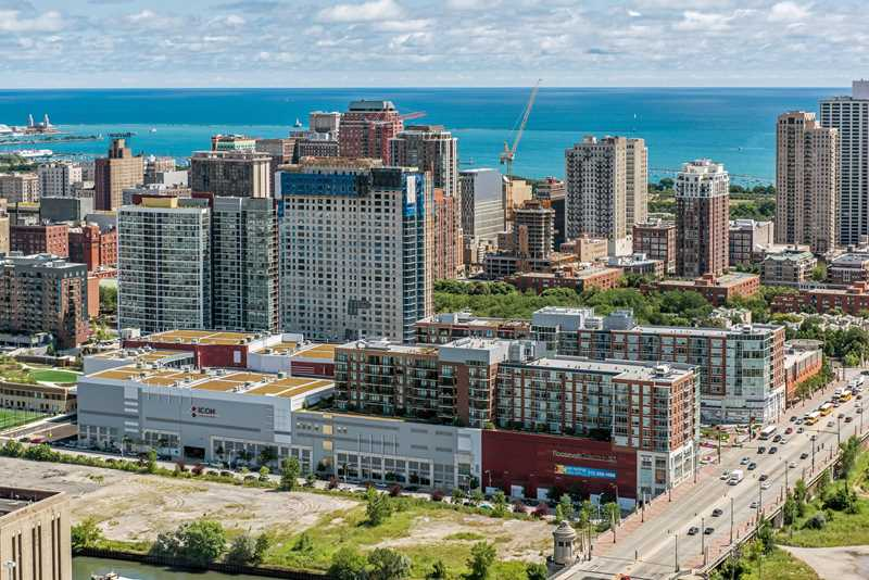 South Loop apartments in a steps-to-everything location