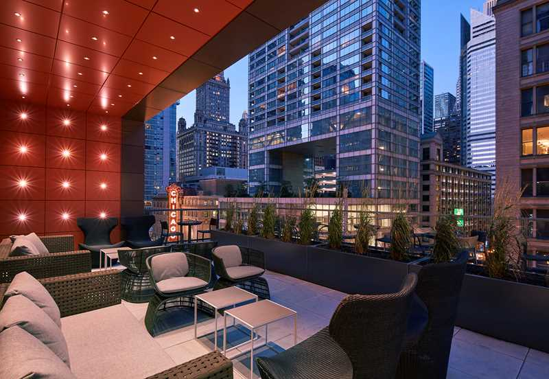 New luxury apartments in the Loop's theater district