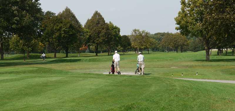 Wilmette public golf course