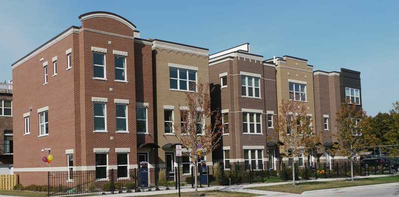 Lexington Square townhomes, Chicago, IL