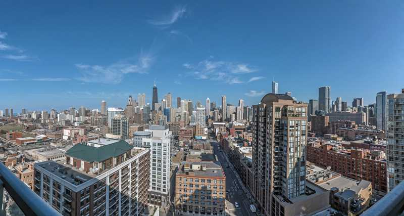 Luxury apartments in River North's mansion district