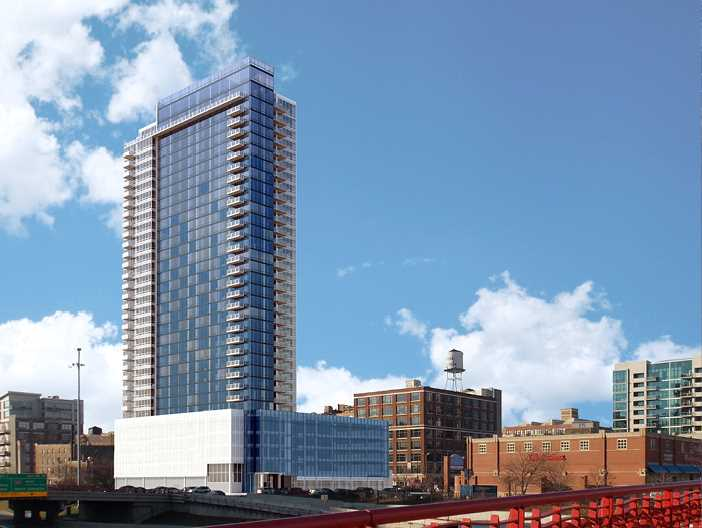 Arkadia apartment tower underway in the West Loop