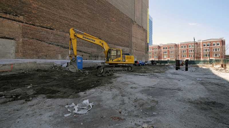 Construction underway on new South Loop condos