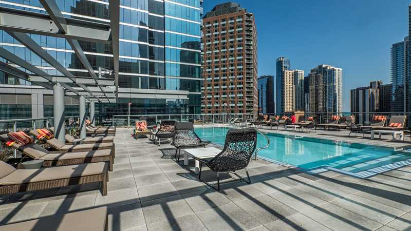 Pool deck, North Water, Chicago