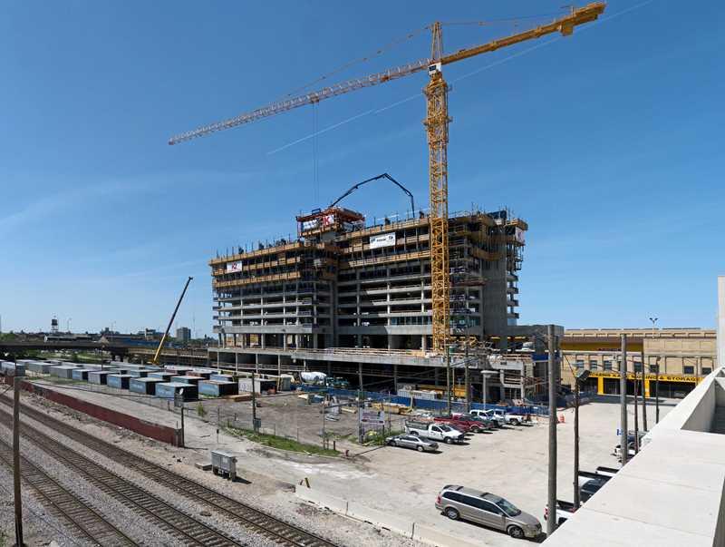 A K2 at K Station construction update