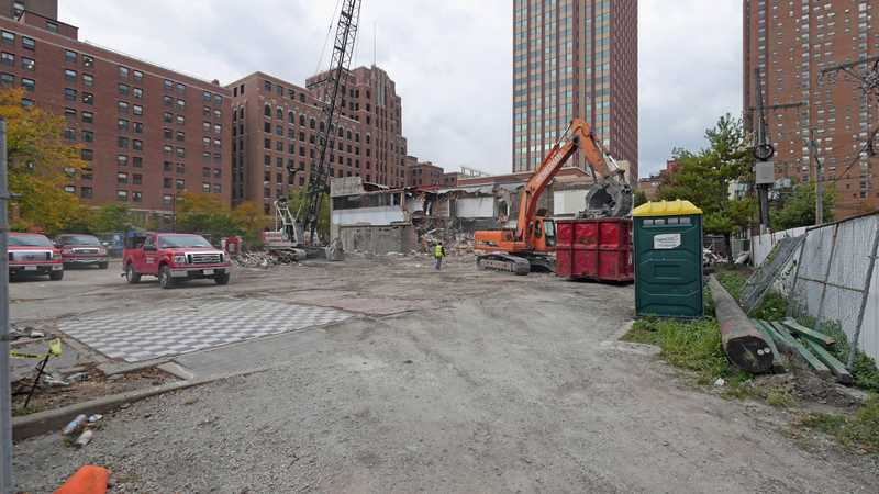 Demolition underway for Chicago and LaSalle apartments