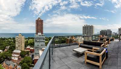 2950 North Sheridan apartments offer sweeping sun deck views