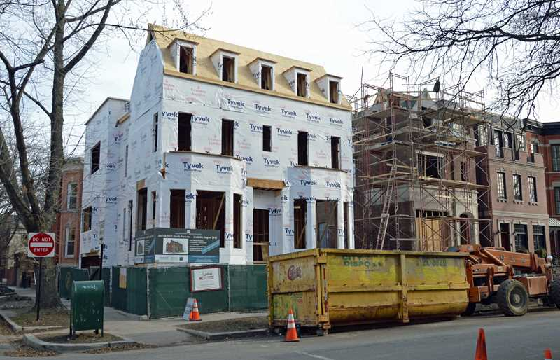 New homes patterned after old in DePaul