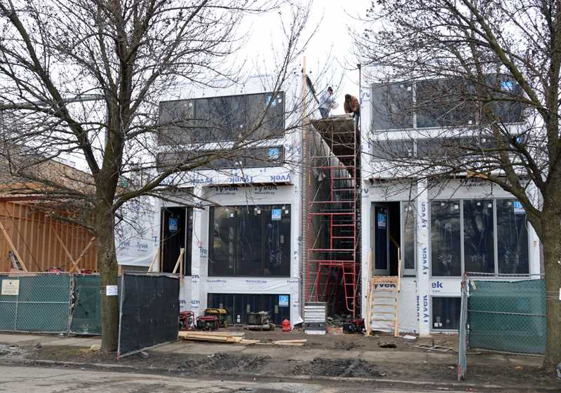 Last week's North Side building permits