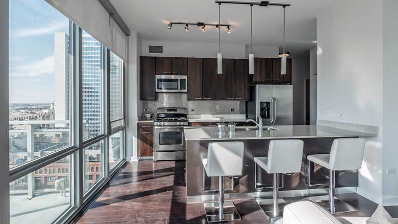Pick your deal at River North's Parc Huron apartments
