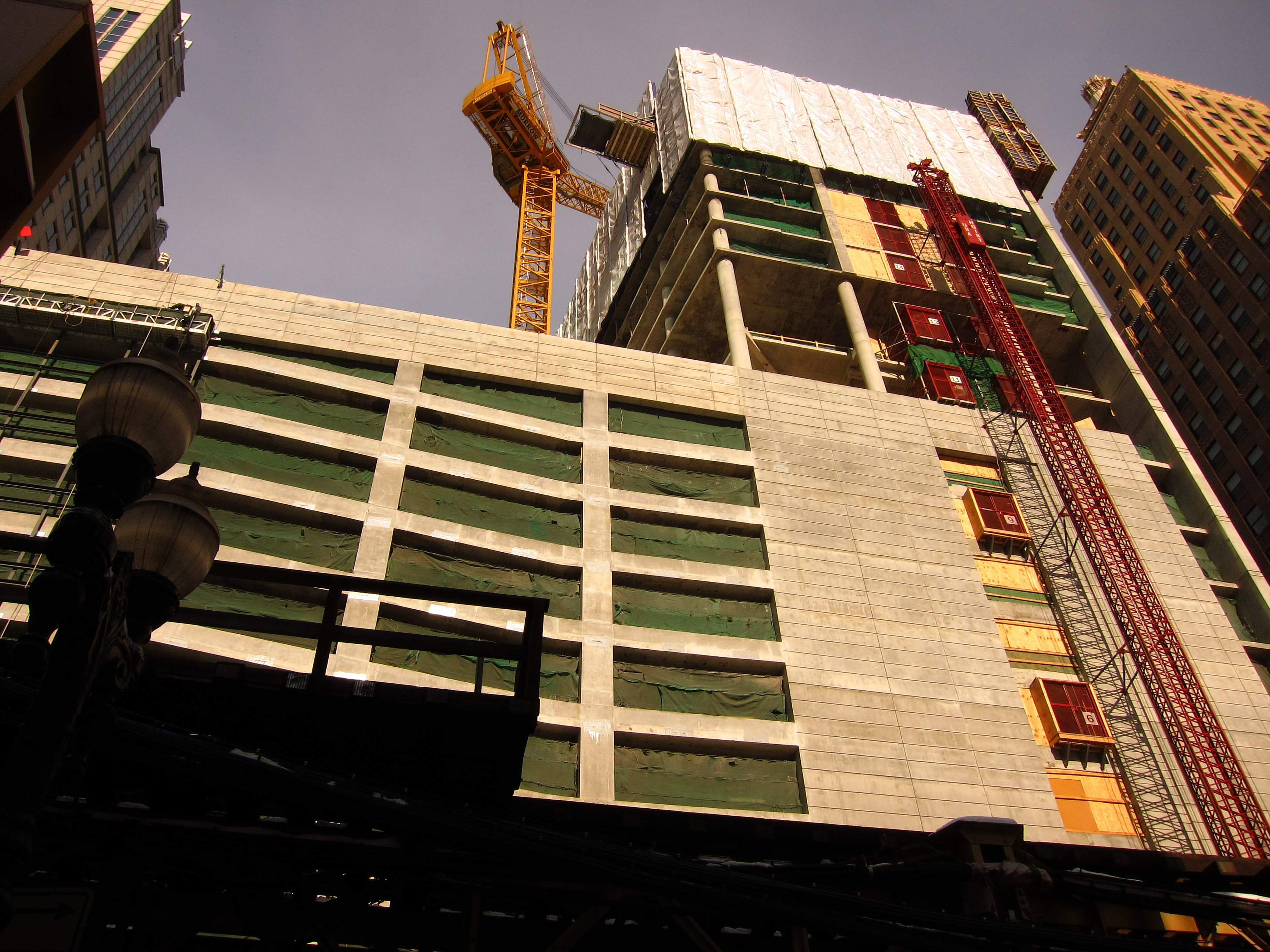 Construction checkup: Wells Street's rental high-rises
